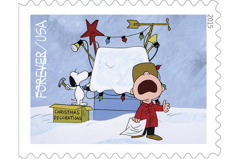 """I francobolli di """"A Charlie Brown Christmas""""</br>Un Natale in jazz"""