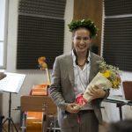 Prima laurea jazz a Siena</br>Parla Tobia Bondesan