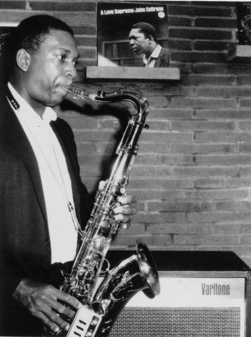 John Coltrane © Jean-Pierre Leloir