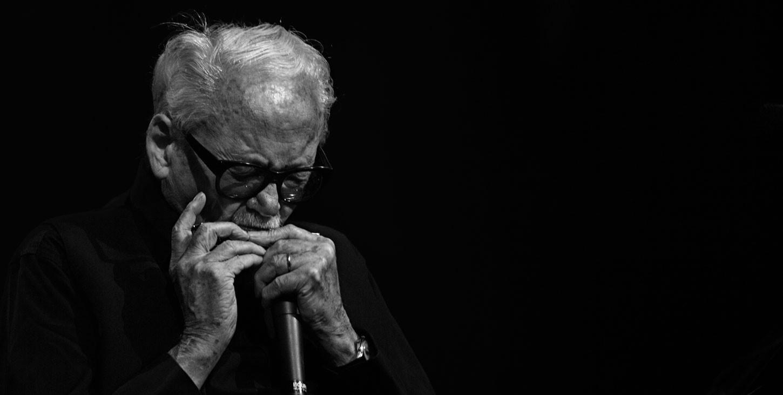 Addio a Toots Thielemans</br>L'armonicista aveva 94 anni