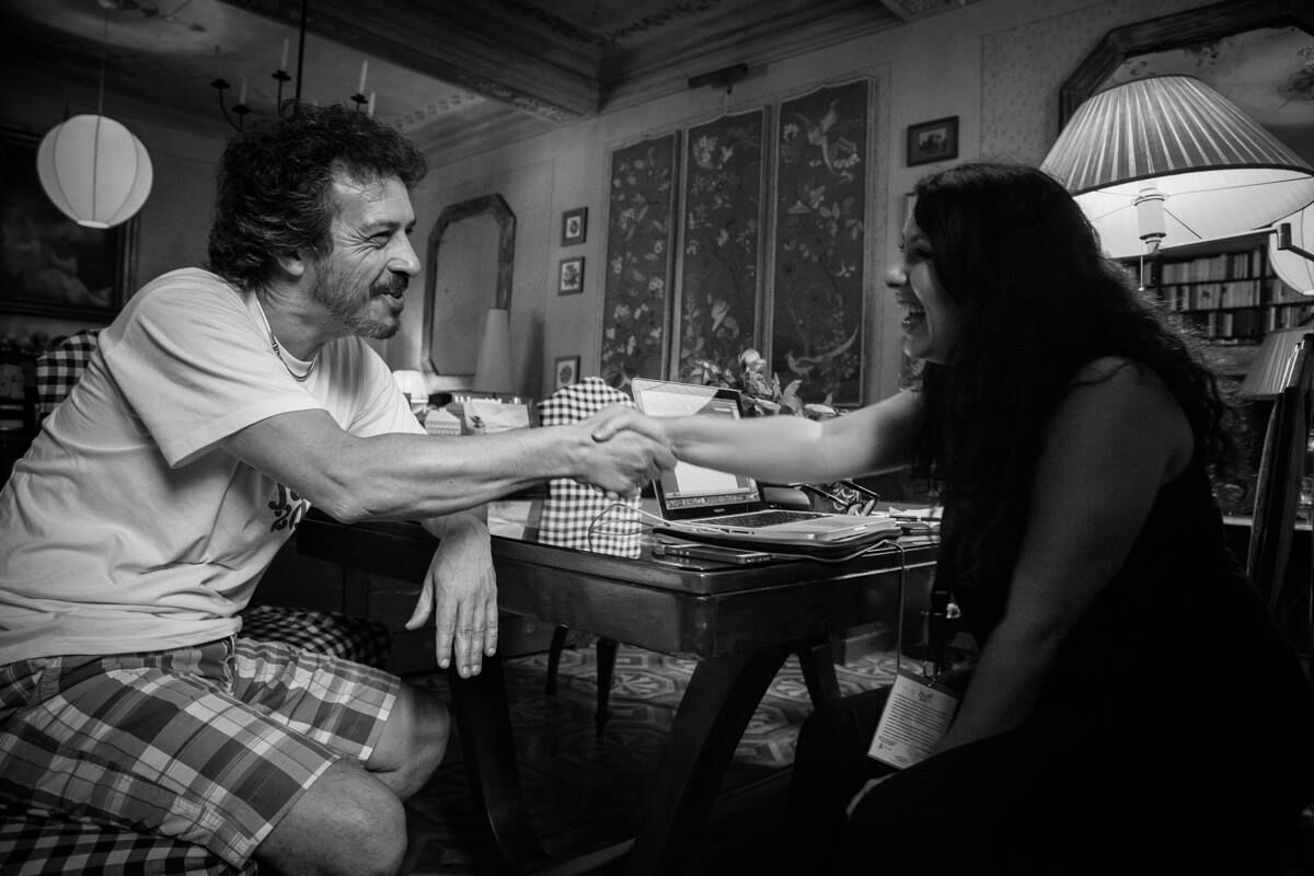 Al Jazzit Fest con</br> Maurizio Brunod</br> Le interviste di Daniela Floris