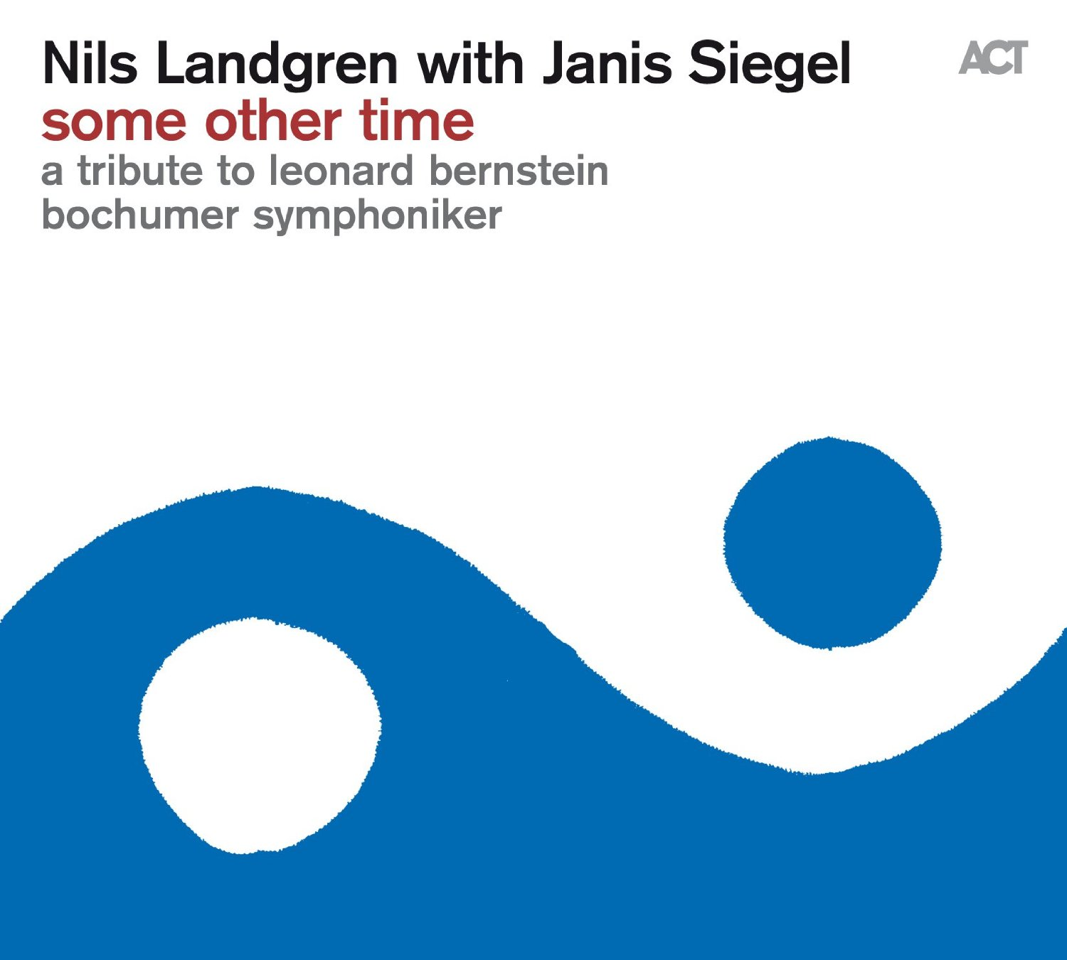 Nils Landgren with Janis Siegel </br>Some Other Time, A Tribute To Leonard Bernstein </br>ACT, 2016