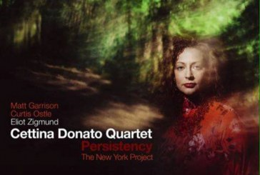 Cettina Donato </br>Persistency - The New York Project </br>AlfaMusic, 2017