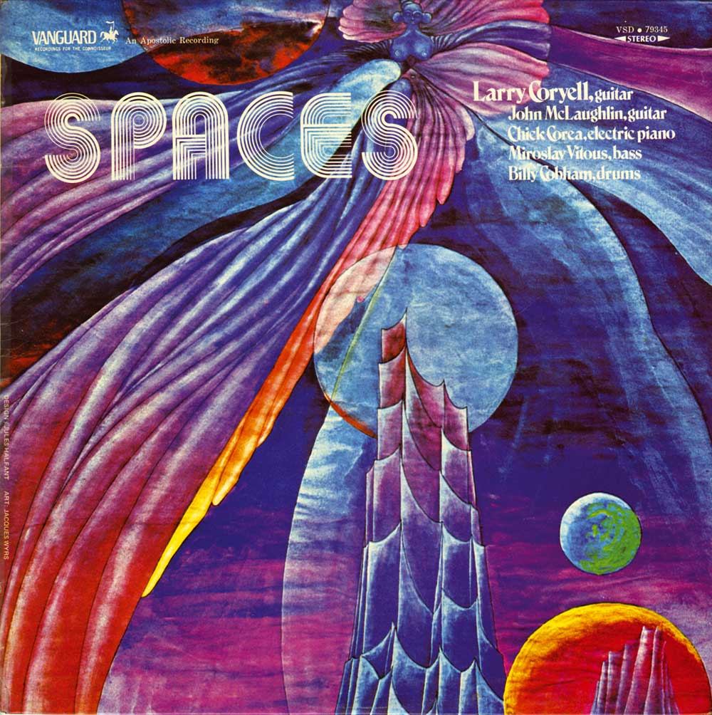 Larry Coryell </br>Spaces</br> Vanguard, 1970
