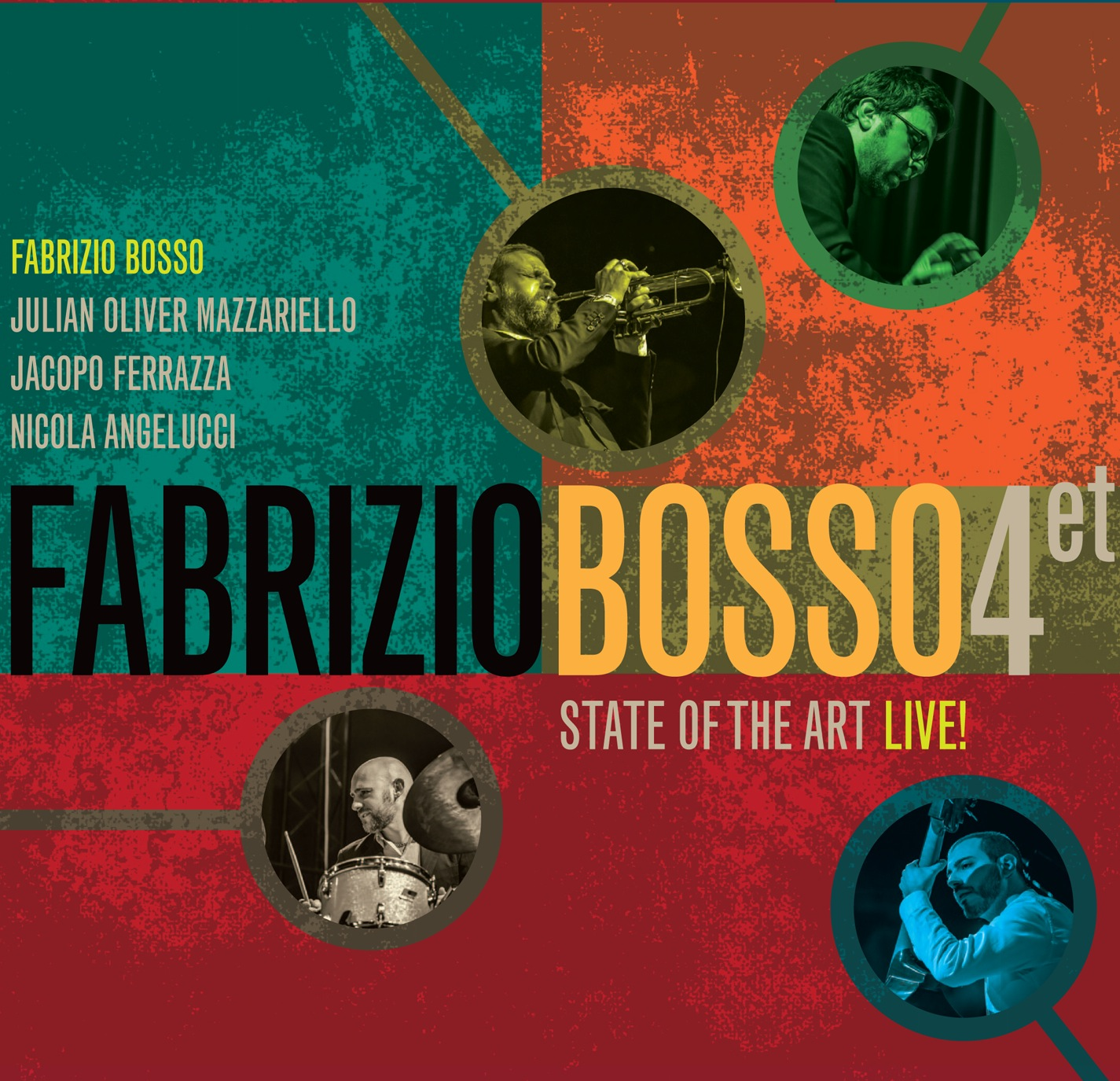 Fabrizio Bosso </br>State Of The Art</br>Warner, 2017