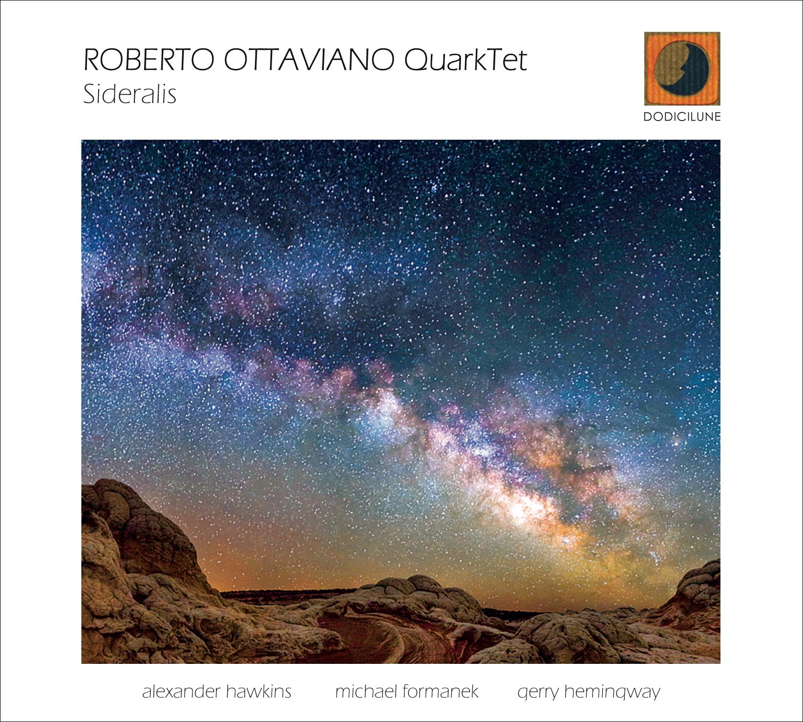 Roberto Ottaviano</br>Sideralis</br>Dodicilune, 2017