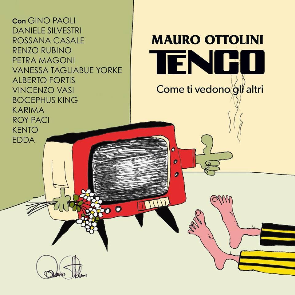 Mauro Ottolini </br>Tenco – Come ti vedono gli altri</br> Azzurra Music, 2017
