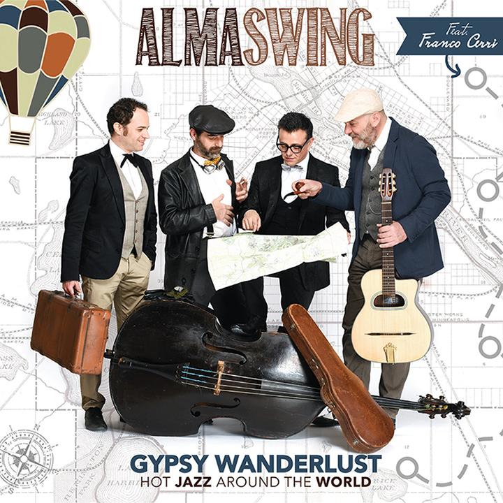 Alma Swing feat. Franco Cerri</br>Gypsy Wanderlust</br>Cose Sonore, 2017