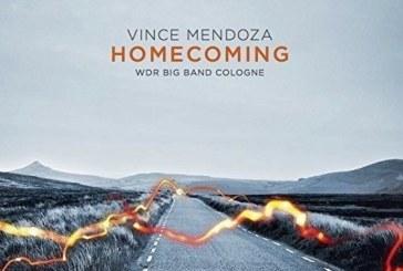 Vince Mendoza/WDR Big Band  <br />Homecoming  <br />Sunnyside, 2017