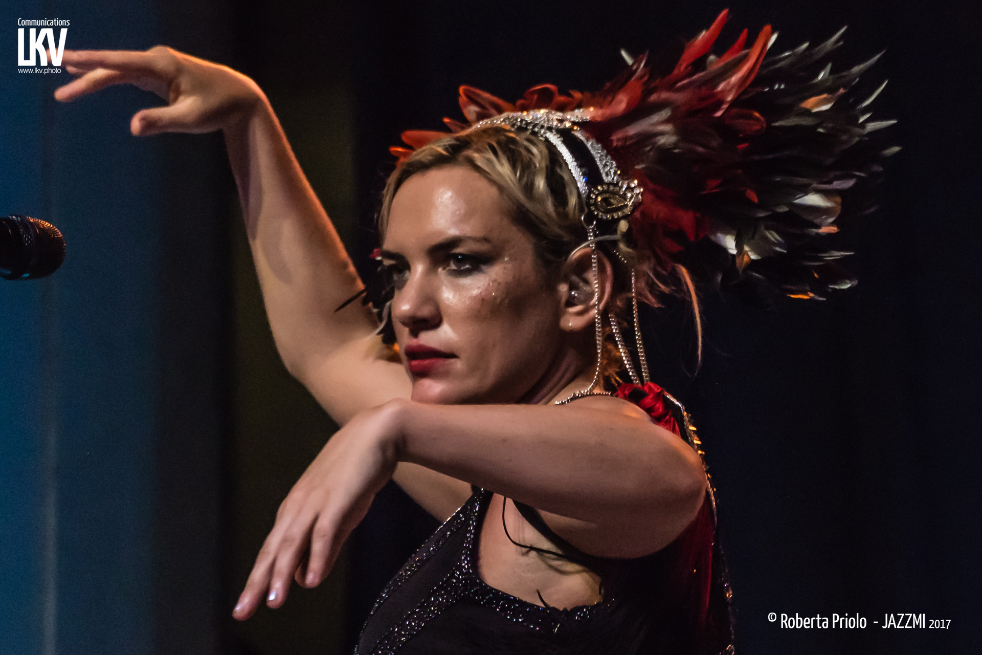Roberta Priolo </br> Electric Swing Circus </br> Reportage
