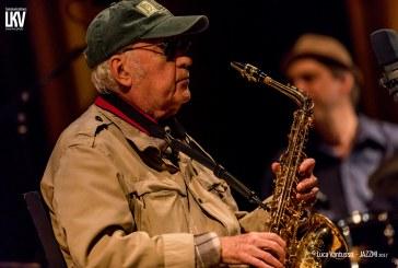 Luca Vantusso </br> Lee Konitz al Jazzmi</br> Reportage