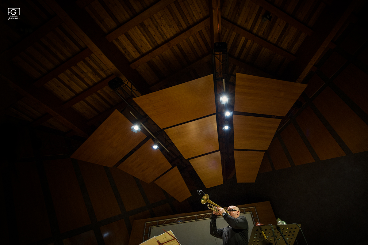Fabrizio Giammarco</br>Lingomania a Celano Jazz Winter</br>Reportage