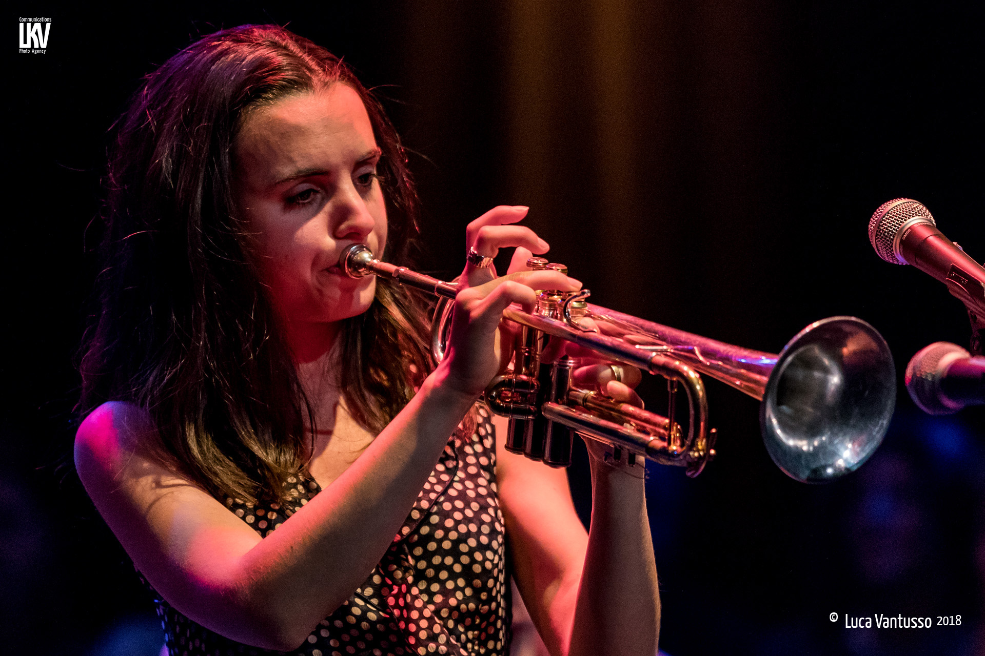 Luca Vantusso e Angela Bartolo</br>Andrea Motis al Cat Jazz Club</br>Reportage