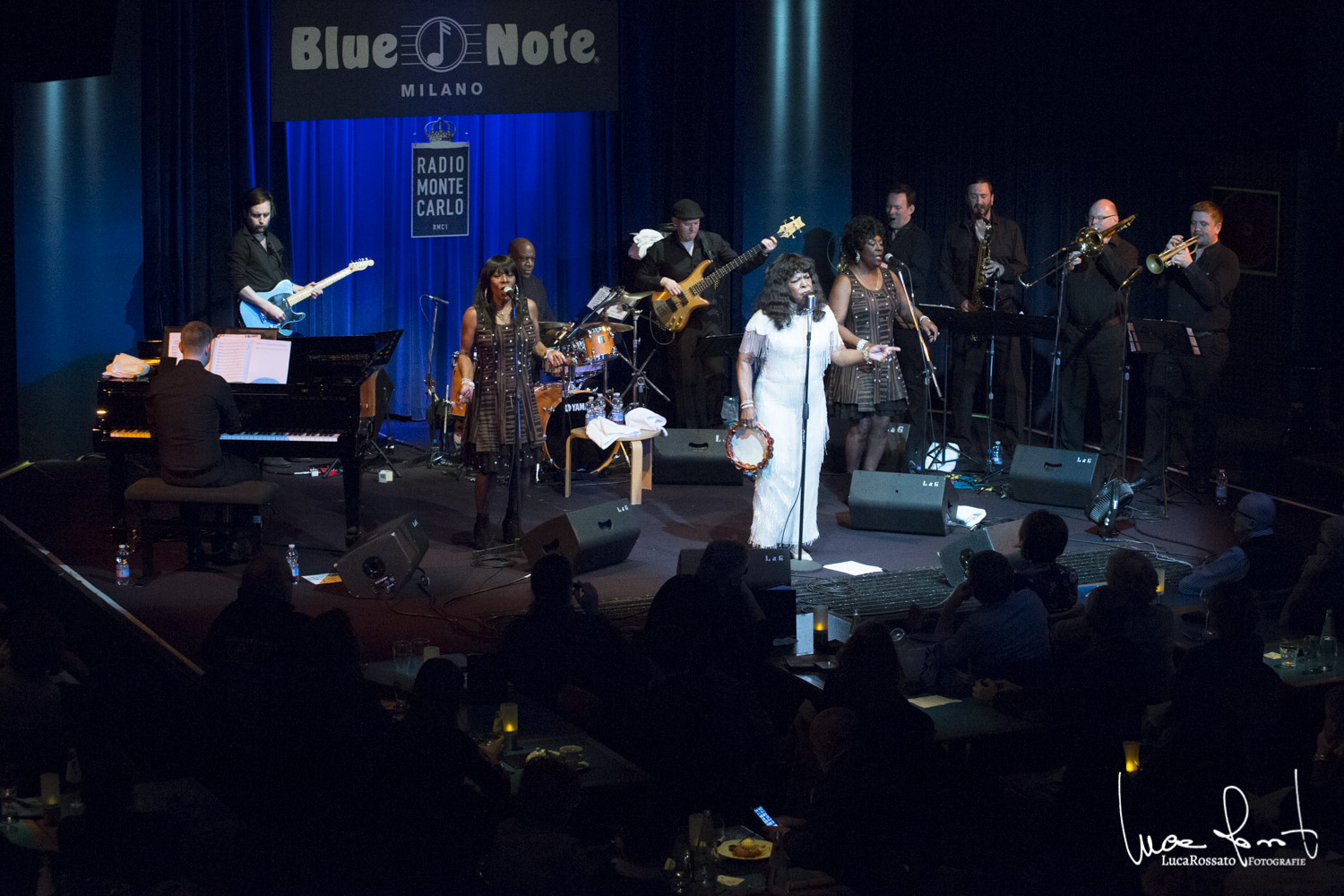 Luca Rossato</br>Martha Reeves al Blue Note</br>Reprtage