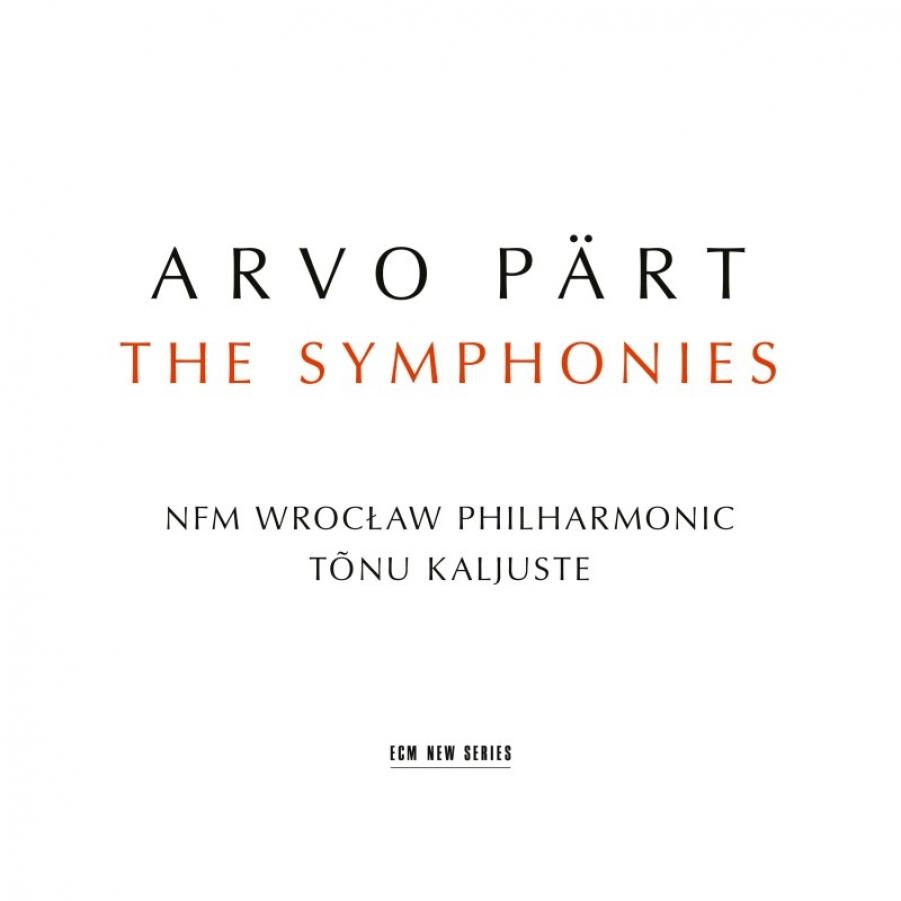 Arvo Pärt</br>The Symphonies</br>ECM, 2018