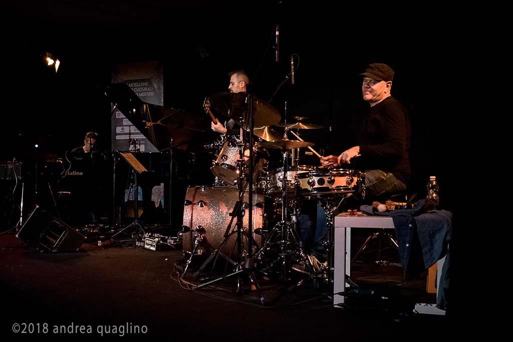Max Dacasto, Sara Vallone, Andrea Quaglino</br>Roberto Gatto Perfect Trio</br>Reportage