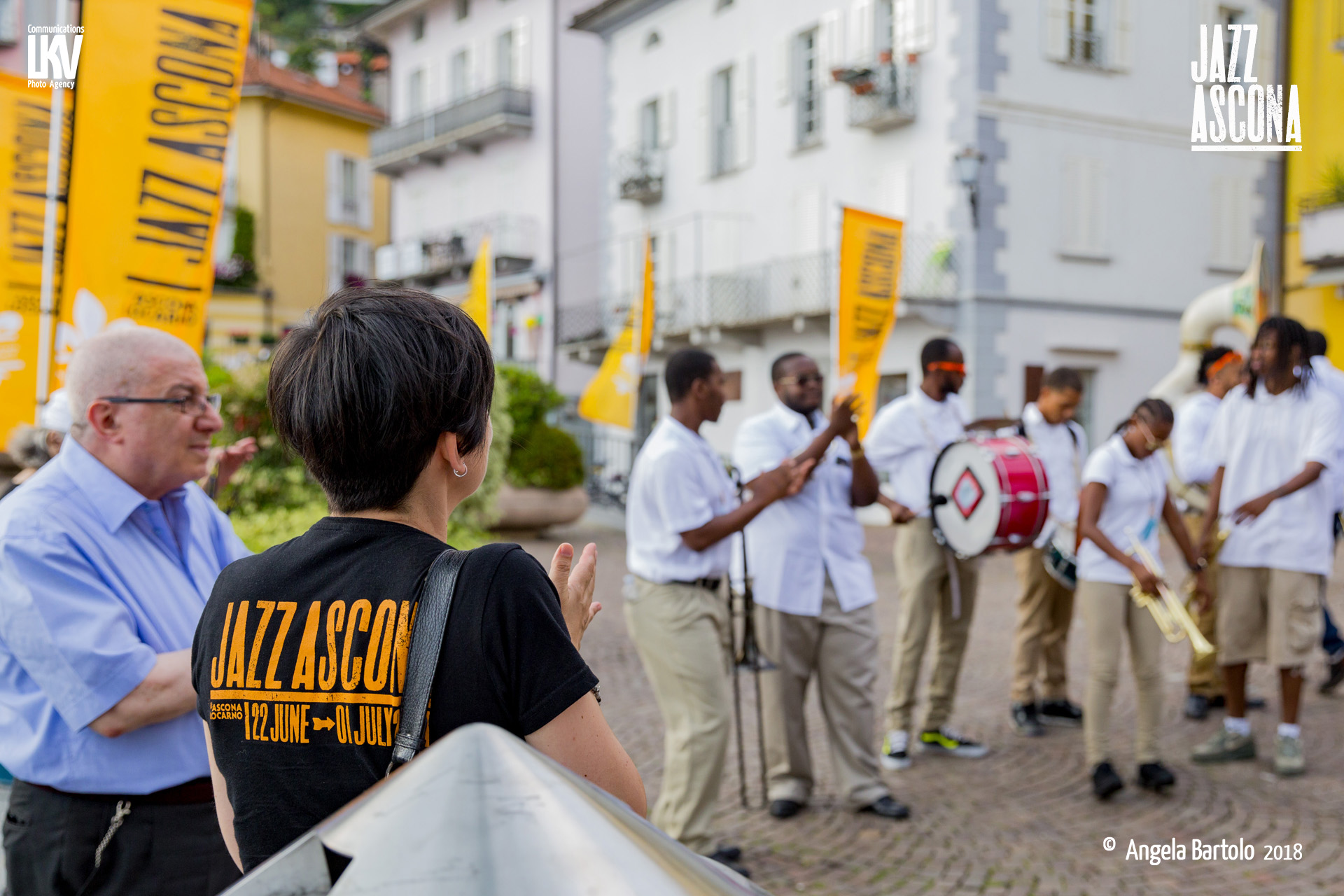 Angela Bartolo e Luca Vantusso</br>34° Jazzascona 2018</br>Reportage