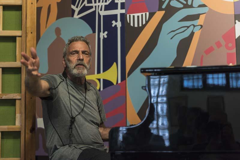 Leonardo Schiavone</br>Masterclass di Eddie Daniels a Quarna</br> Reportage