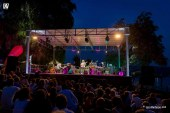 Luca Vantusso, Angela Bartolo, Marco Tosi<br/>Pat Metheny all'Arona Music Festival <br/>Reportage