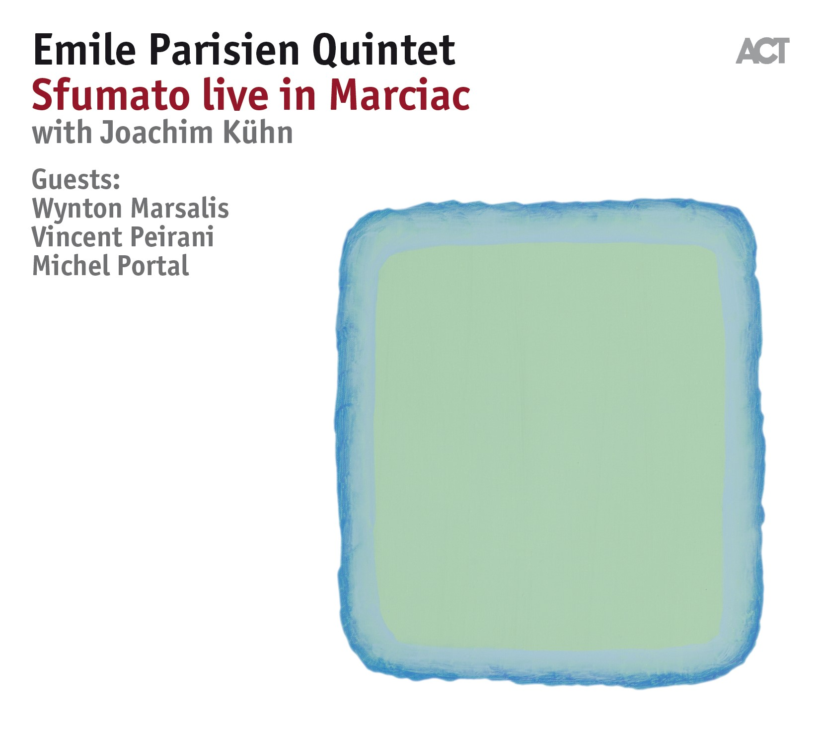 Emile Parisien</br>Sfumato live in Marciac</br>ACT, 2018