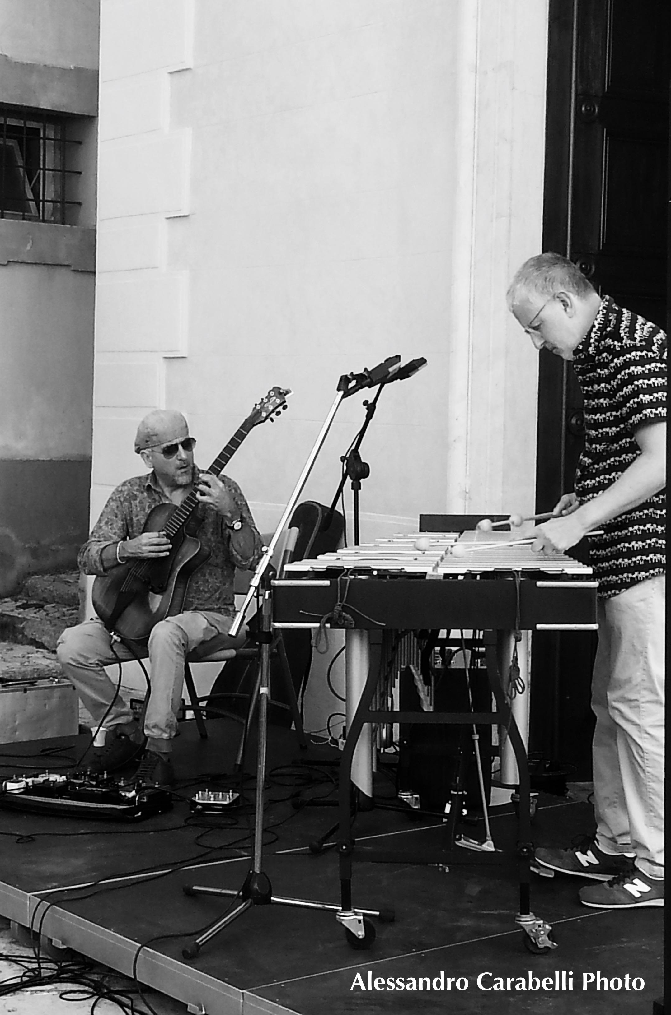 Alessandro Carabelli<br/>Bebo Ferra e Andrea Dulbecco a Suoni d&#8217;acqua<br/>Reportage