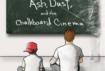 Peter Nelson<br/>Ash, Dust, And The Chalkboard Cinema<br/>Outside In Music, 2018