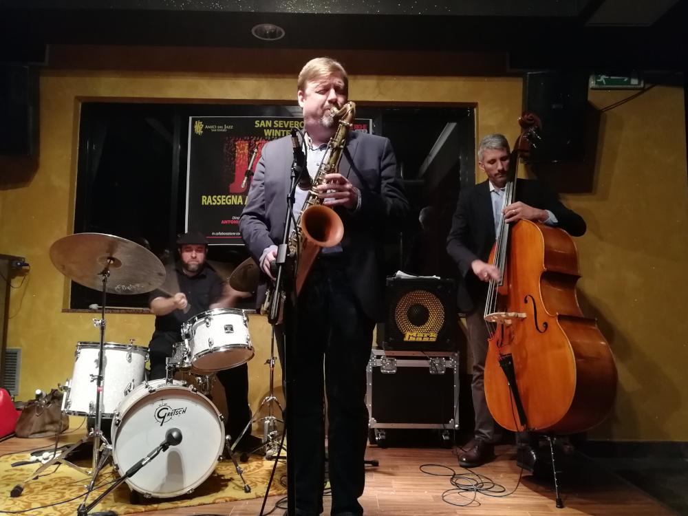 Alessandro Galano<br/>Joel Frahm al San Severo Winter Jazz Festival<br/>Reportage