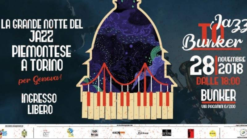 Jazz To Bunker<br/>Il Jazz piemontese per Genova