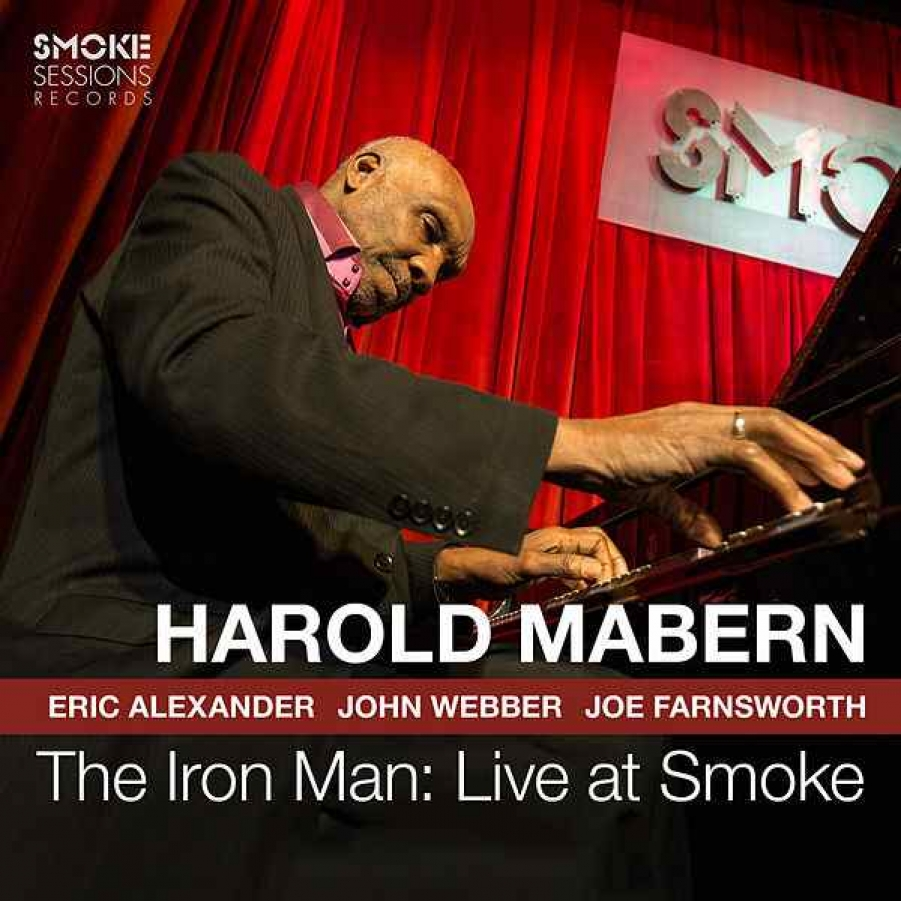 Harold Mabern<br/>The Iron Man: Live at Smoke<br/>Smoke Session, 2018