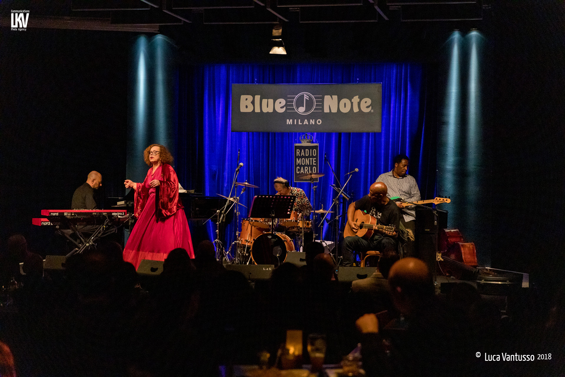 Luca Vantusso<br/>Sarah Jane Morris al Blue Note<br/>Reportage