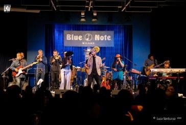 Luca Vantusso <br/> Incognito al Blue Note <br/> Reportage