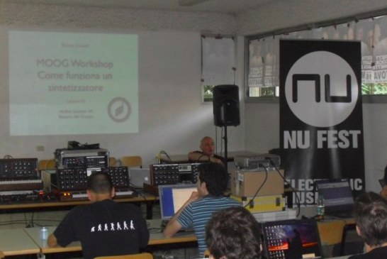 "A Venezia ""The Island of Electronicus"" con il Moog Summer Camp."