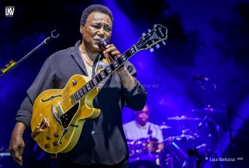 Luca Vantusso, Marco Tosi <br/> George Benson all'Arona Music Festival <br/> Reportage