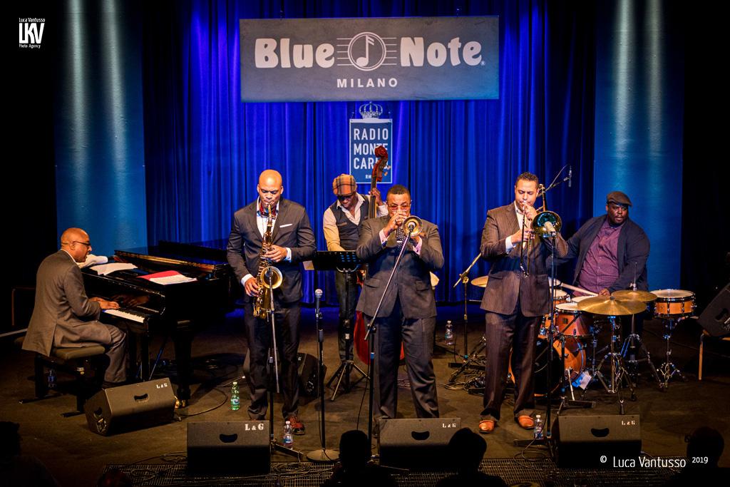 Luca Vantusso<br/>Black Art Jazz Collective al Blue Note Milano<br/>Reportage