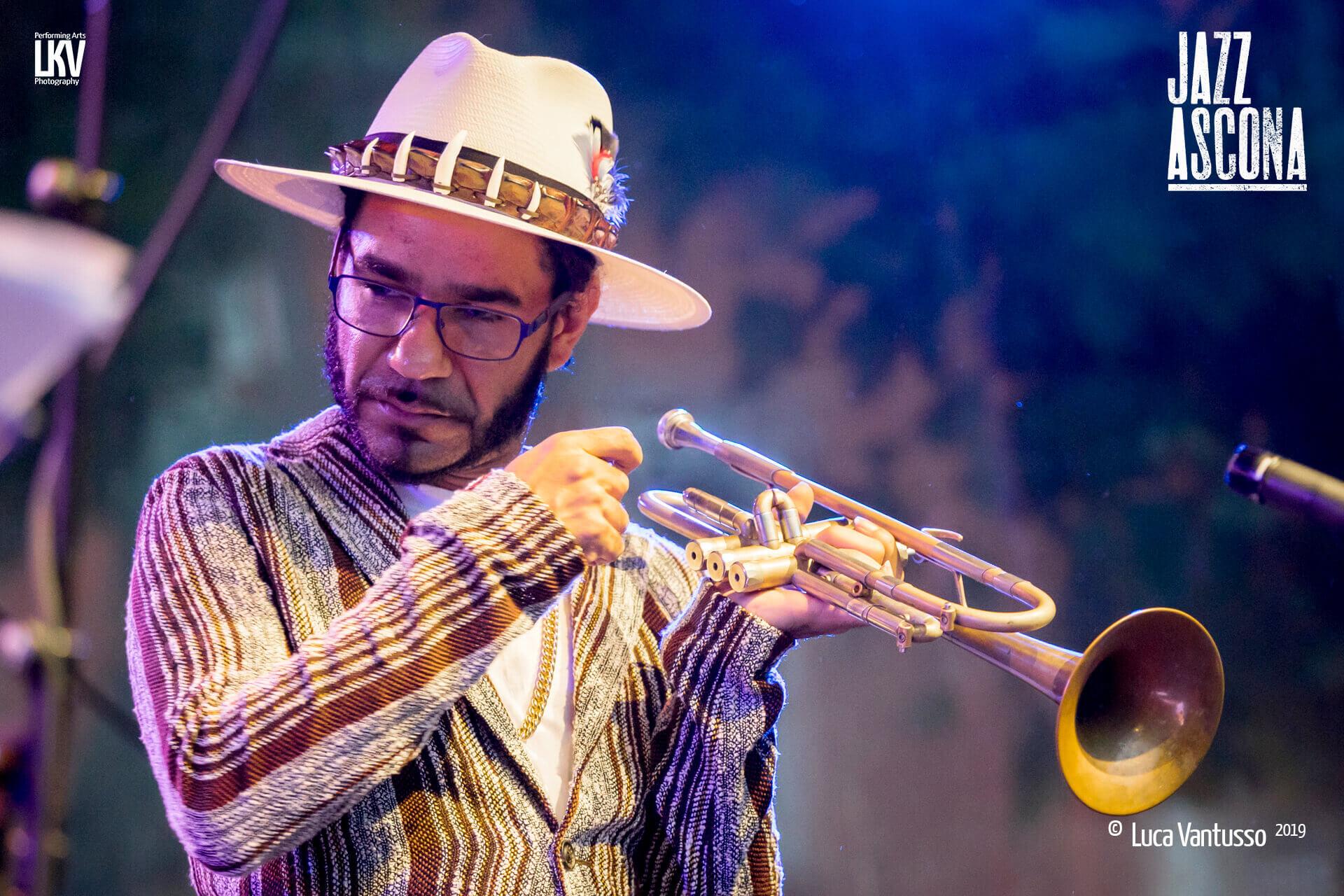 Luca Vantusso<br/> Ashlin Parker a Jazzascona 2019<br/> Portrait