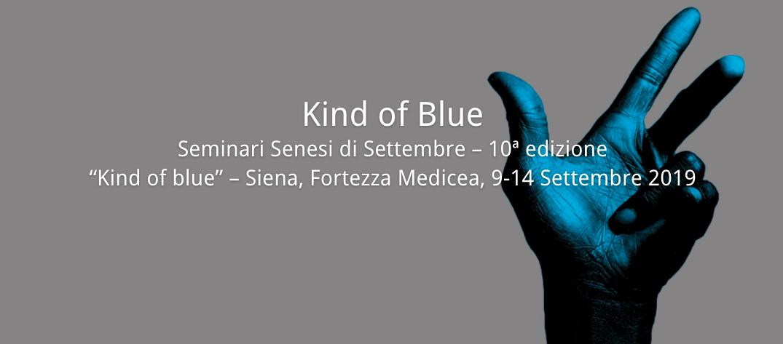 """Seminari senesi """"Kind of Blue"""""""