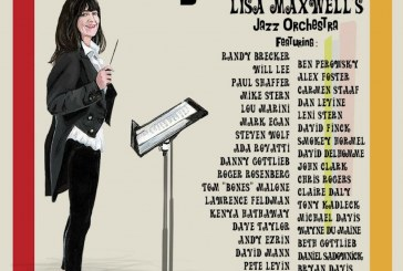 Lisa Maxwell Big Band<br/>Shiny!<br/>Uncle Marvin Music, 2019