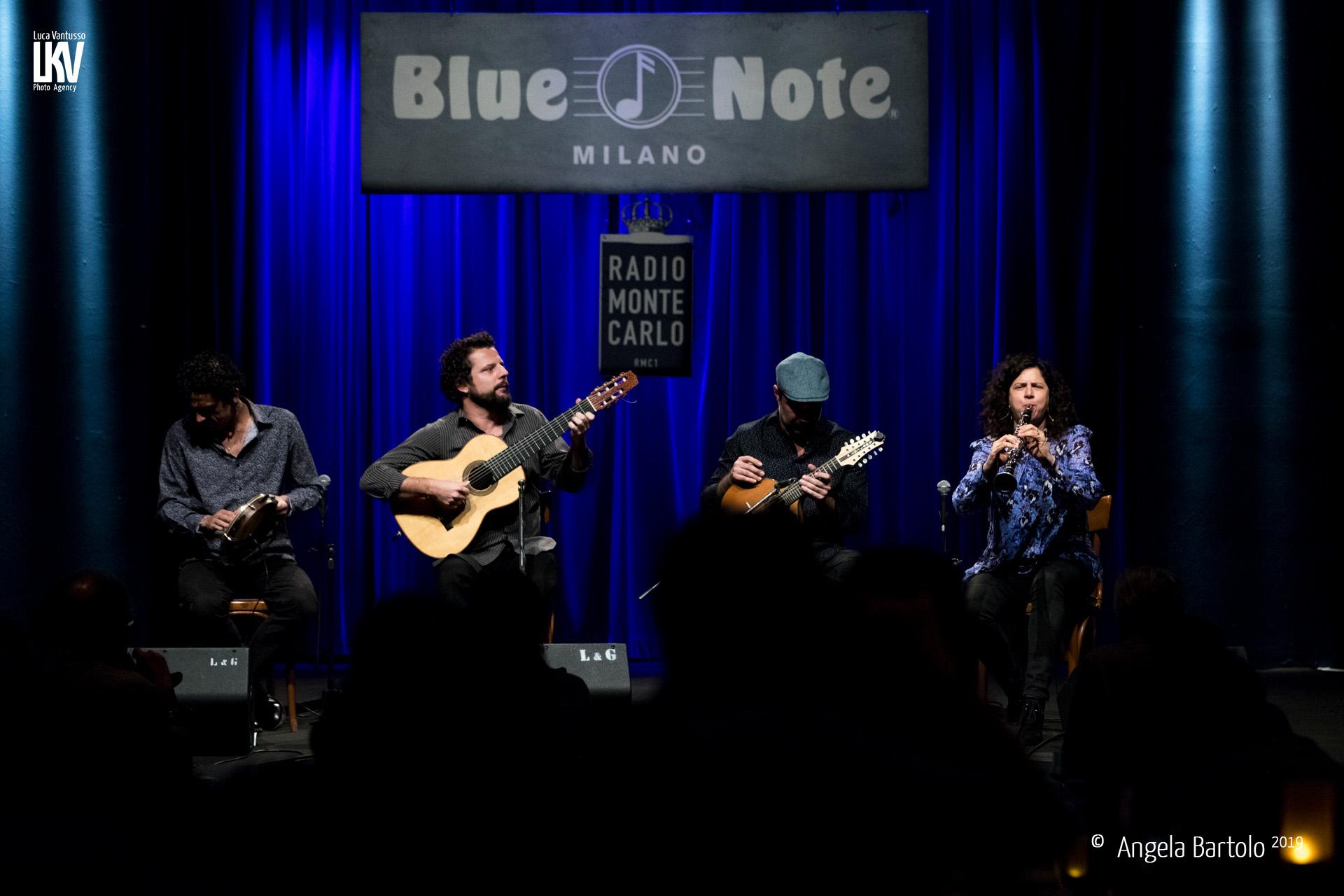 Angela Bartolo<br/>Anat Cohen & Trio Brasileiro<br/>Reportage