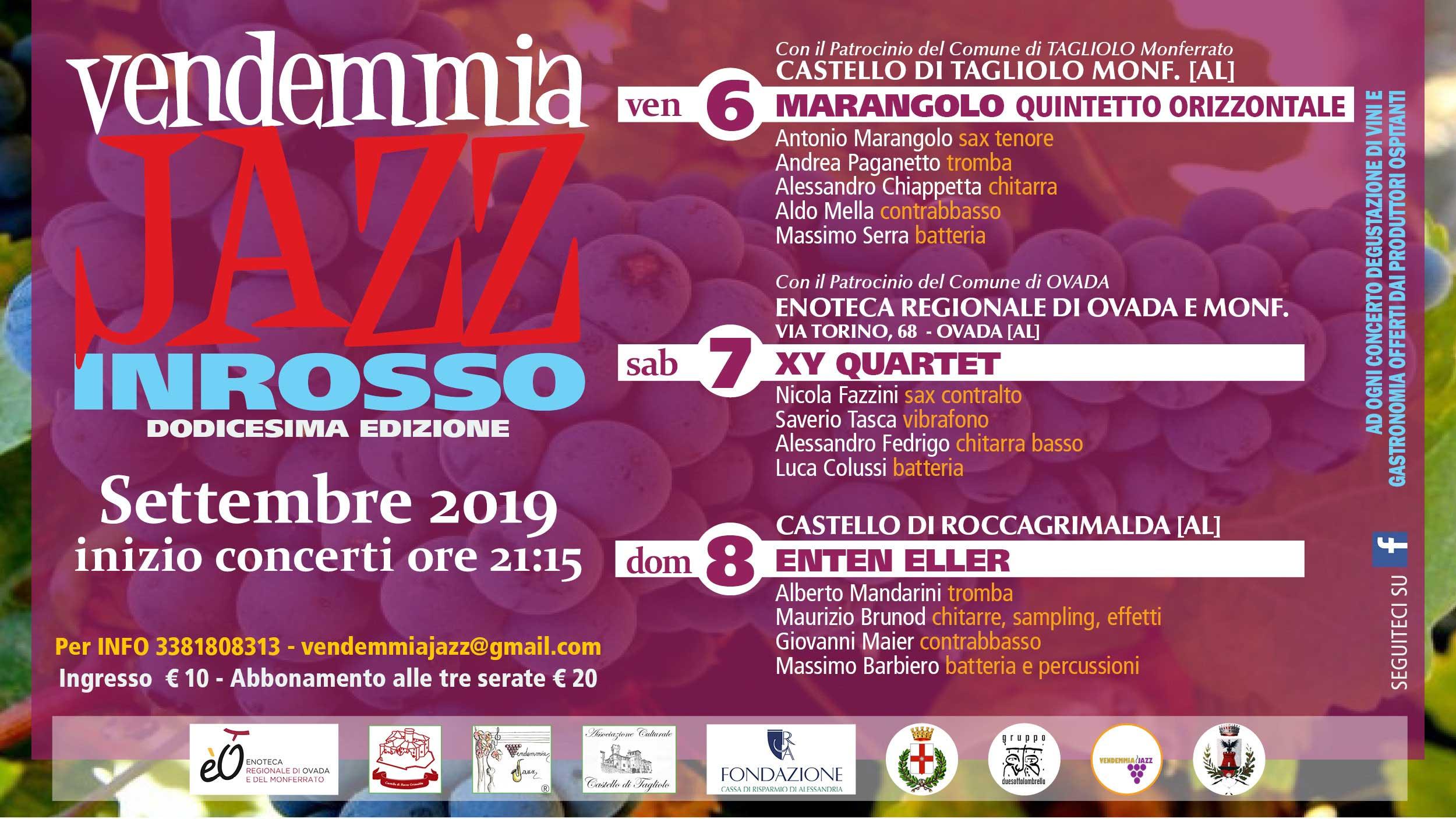 Vendemmia Jazz 2019 – XII edizione
