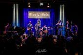 Luca Vantusso<br/>Myles Sanko al Blue Note<br/>Reportage