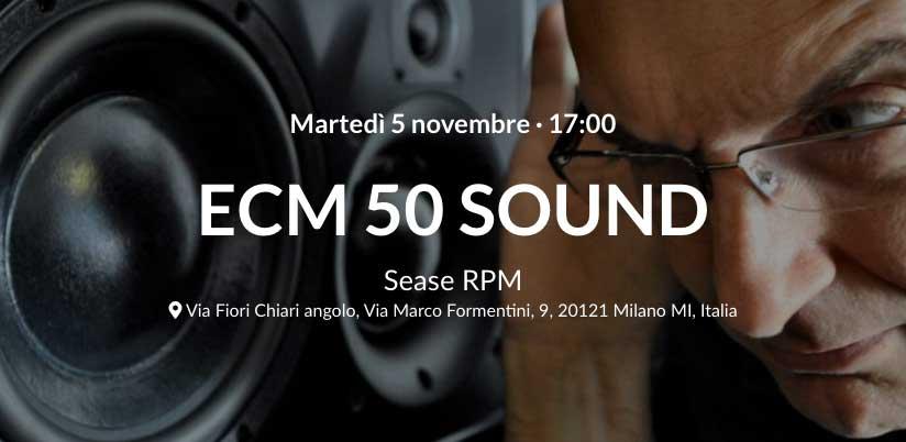 ECM 50 Sounds – Incontro con Stefano Amerio a Jazzmi