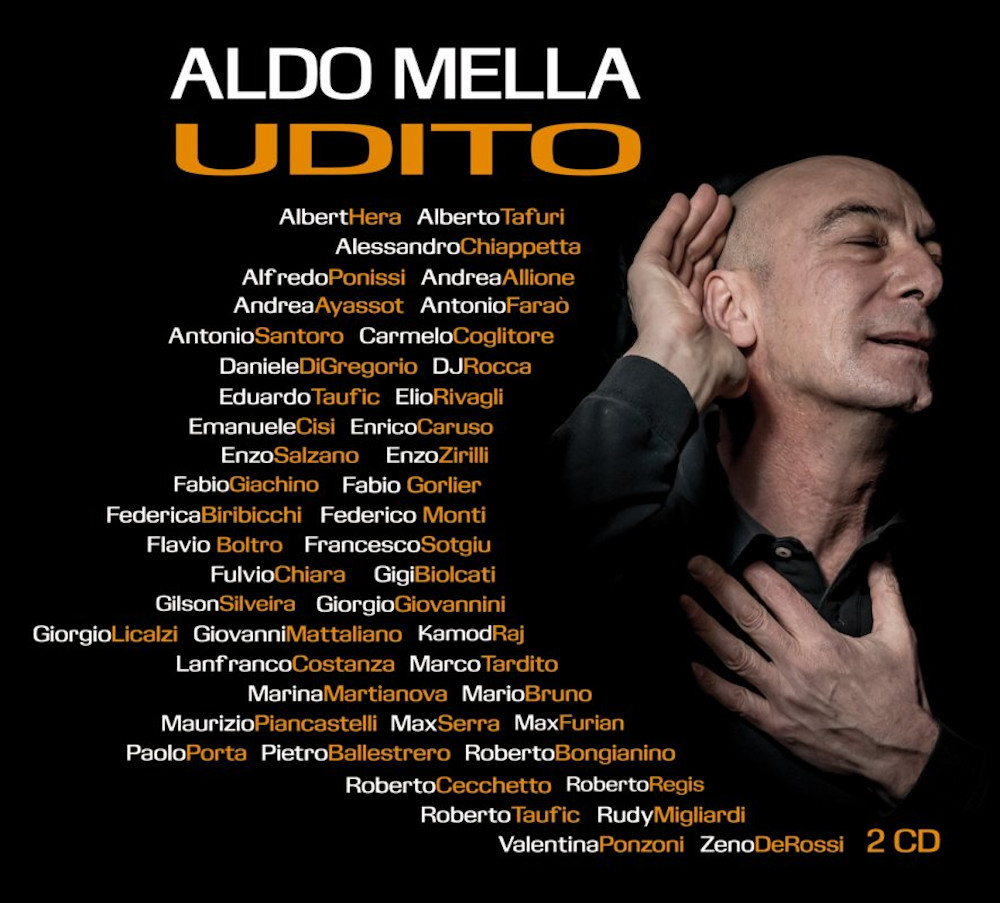 Aldo Mella<br/>Udito<br/>Claudiana, 2019