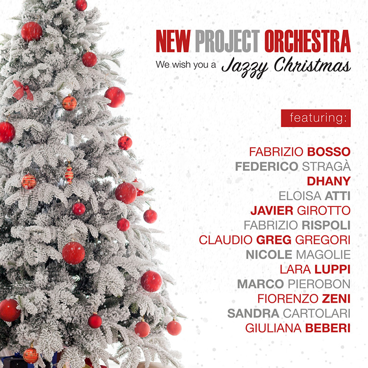 New Project Orchestra<br/>We Wish You A Jazzy Christmas<br/>Alman Music, 2019
