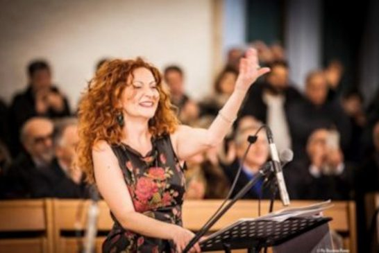 Cettina Donato dirige l'Orchestra Sinfonica della Città Metropolitana di Bari