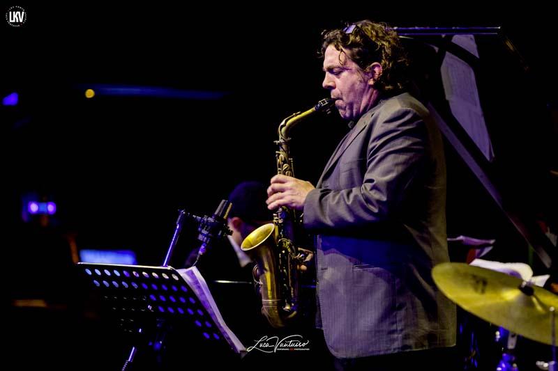Luca Vantusso<br/>Christan Brewer e Marco Marzola al Blue Note Milano<br/>Reportage