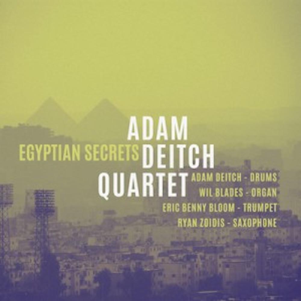 Adam Deitch Quartet<br/>Egyptian Secrets<br/>Golden Wolf, 2019