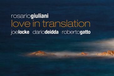 Rosario Giuliani<br/>Love in Translation<br/>Jando Music/Via Veneto Jazz, 2020