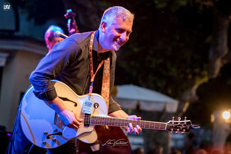 Luca Vantusso<br/>Blues Swingers al Jazzascona<br/>Reportage