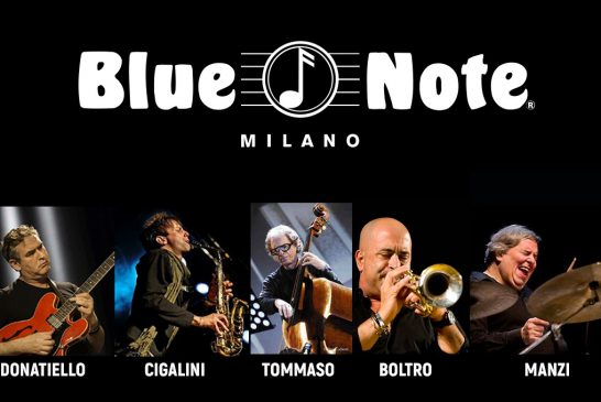 Concerto al Blue Note di Tommaso/Donatiello/Boltro/Manzi/Cigalini