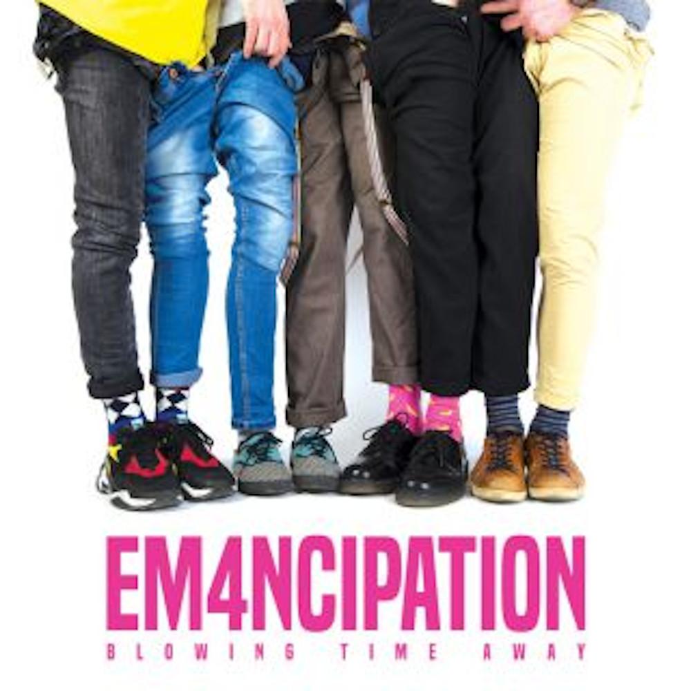 Em4ncipation<br/>Blowing Time Away<br/>Bagana/Pirames International, 2020